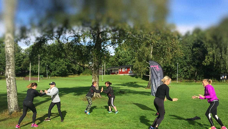 utomhusträning i Göteborg