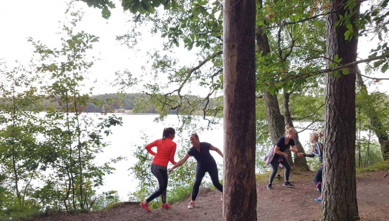 Lucka 21: Löpförberedelse i Sisjön