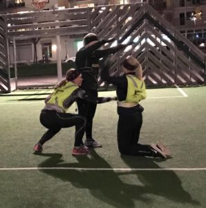Utomhusträning med Sara i Kungsbacka